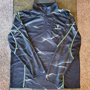Men's Huntworth XL 3/4 zippered Top